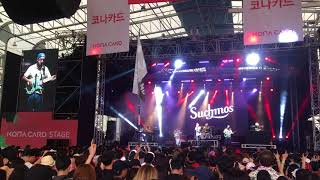 Suchmos Live at Pentaport Rock Festival 2018 in South KOREA (12.08....