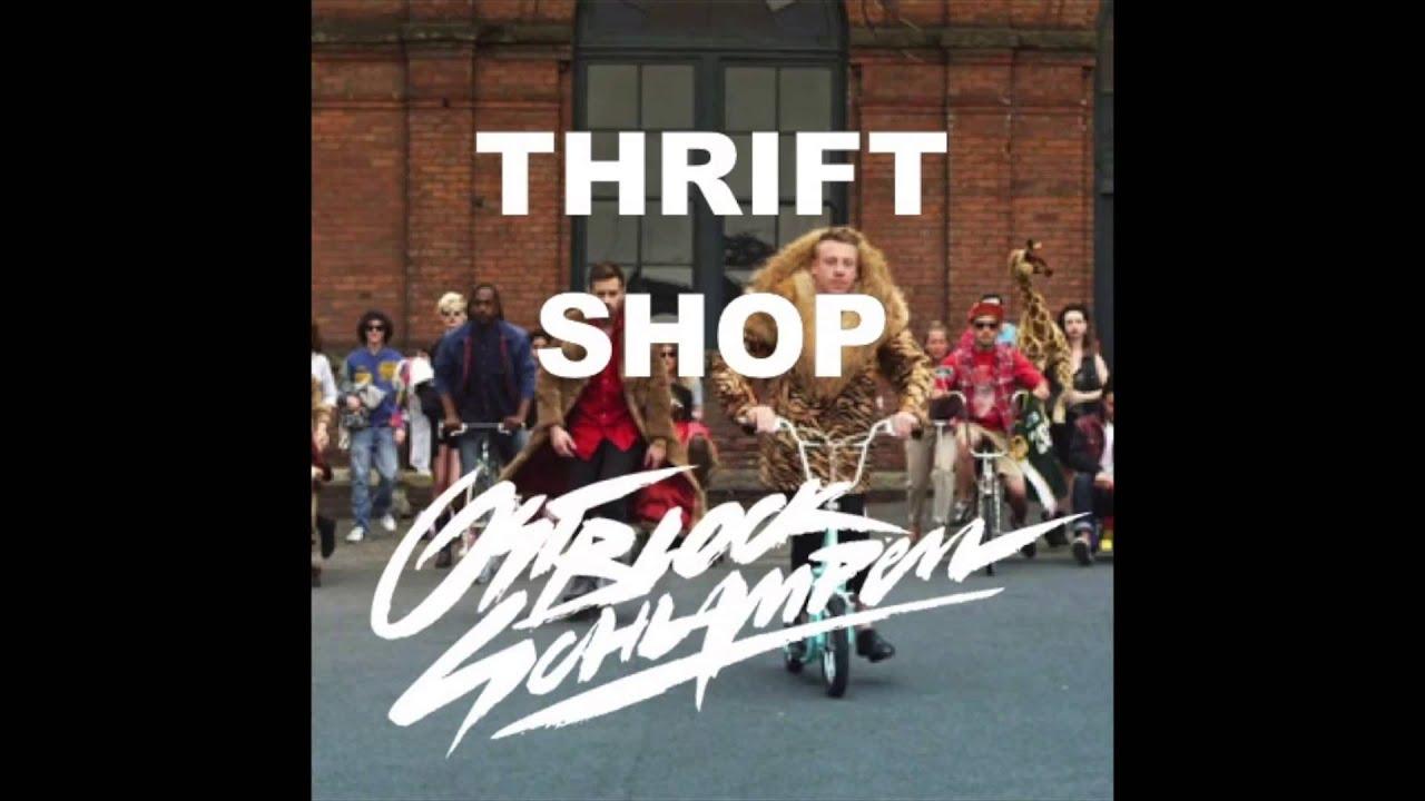 скачать песню macklemore thrift shop