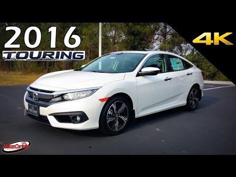 2016 Honda Civic Touring - Ultimate In-Depth Look in 4K