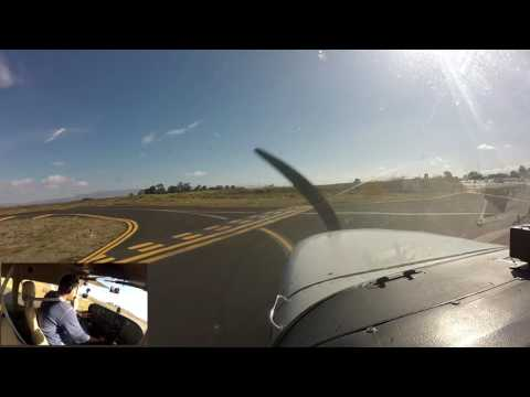 Extremely Busy Palo Alto Airport (KPAO) (With ATC Audio)