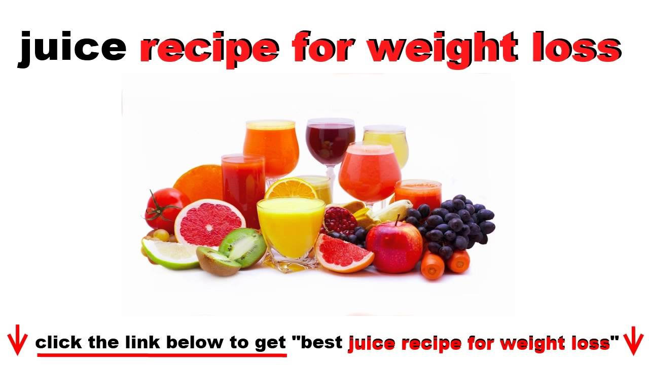 juicing : juice recipe For Weight Loss - YouTube