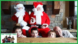 Mysterious Guests! (Santa) Hello Neighbor In Real Life That YouTub3 Family I Family Chann ...