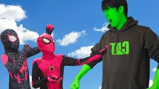 스파이더맨 VS 헐크 내 스피츠라이너를 돌려줘! 바퀴신발 Spider-Man VS Hulk