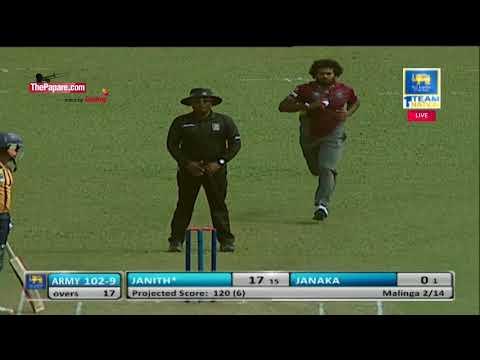 Lasith Malinga wrecks Army SC in SLC T20 Semi-Final
