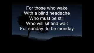 Sia   Sunday lyrics