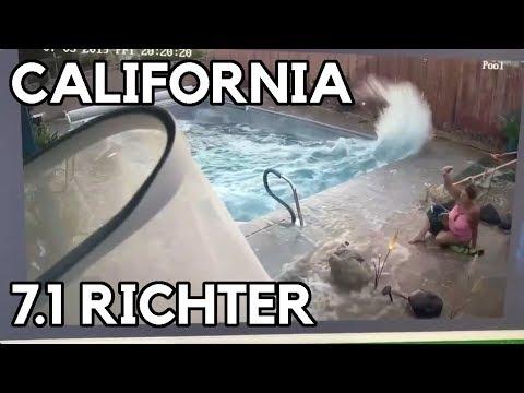 TERREMOTO EN CALIFORNIA 7.1 GRADOS    5 DE JULIO DE 2019