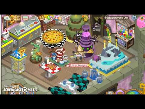 Animal Jam 5th Birthday Cake Tricks YouTube