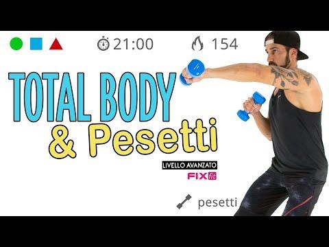 Esercizi Per Tonificare Il Corpo: Workout Total Body Con Pesetti