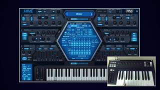 u-he Hive Virtual Analogue Synth - Short Demo