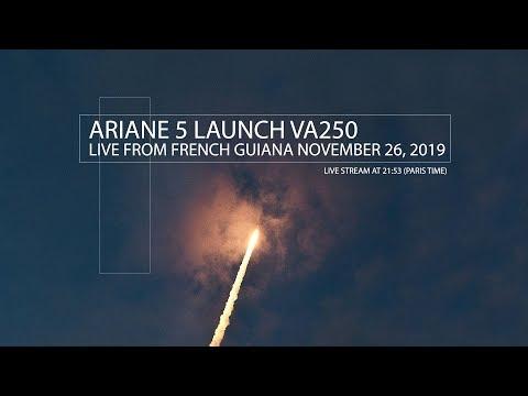 [Live] VA250 Launch (November 26, 2019)