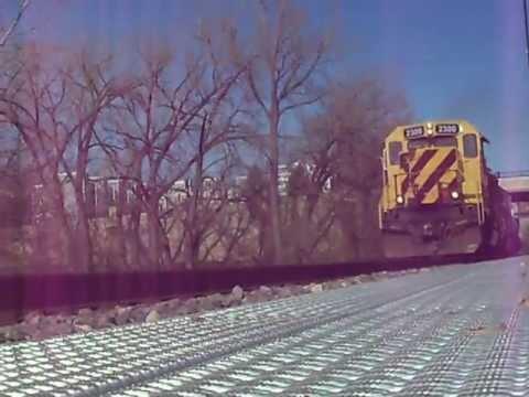 Train at Nicollet Island