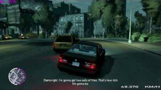 GTA IV Drug wars gameplay HQ - BMW e34 540i