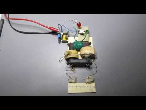 High voltage pulse generator using TV high voltage transformer (approx. 75KV)