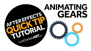 After Effects Tutorial | QUICK TIP | Animating Gears