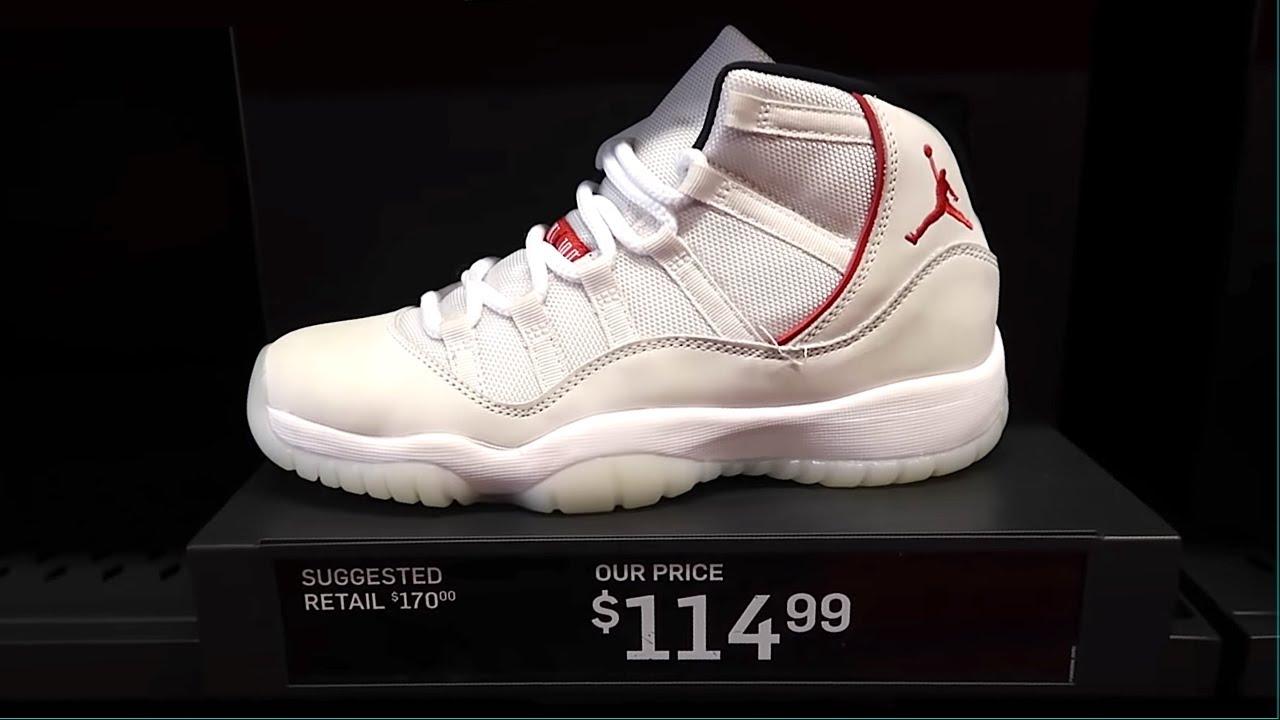 5 Jordan 11's that FAILED Miserably.