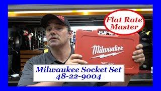 Milwaukee Socket Set 48-22-9004