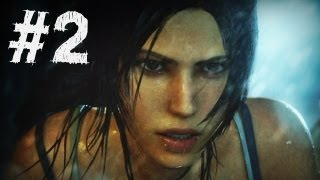 Repeat youtube video Tomb Raider Gameplay Walkthrough Part 2 - A Survivor Is Born (2013)