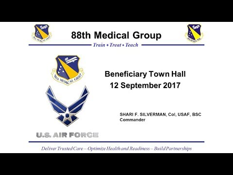 Wright-Patterson Beneficiary Town Hall 12 Sept 2017