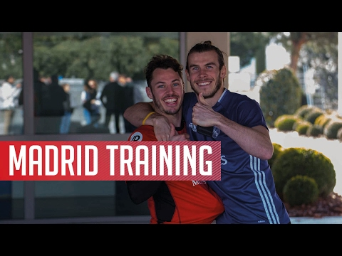 In training: AFC Bournemouth train for second day at Real Madrid