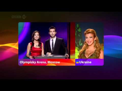 Eurovision 2009 Full Voting BBC