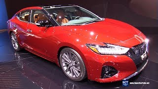 2019 Nissan Maxima - Exterior and Interior Walkaround - Debut 2018 LA Auto Show