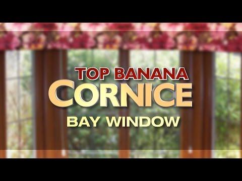 NEW Top Banana Bay Window Cornice