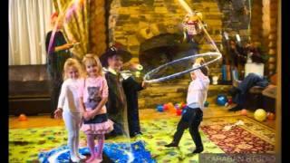 Шоу мыльных пузырей на детском празднике 5 лет