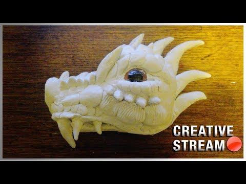 Live | Crafting in real life with Air Dry Clay!