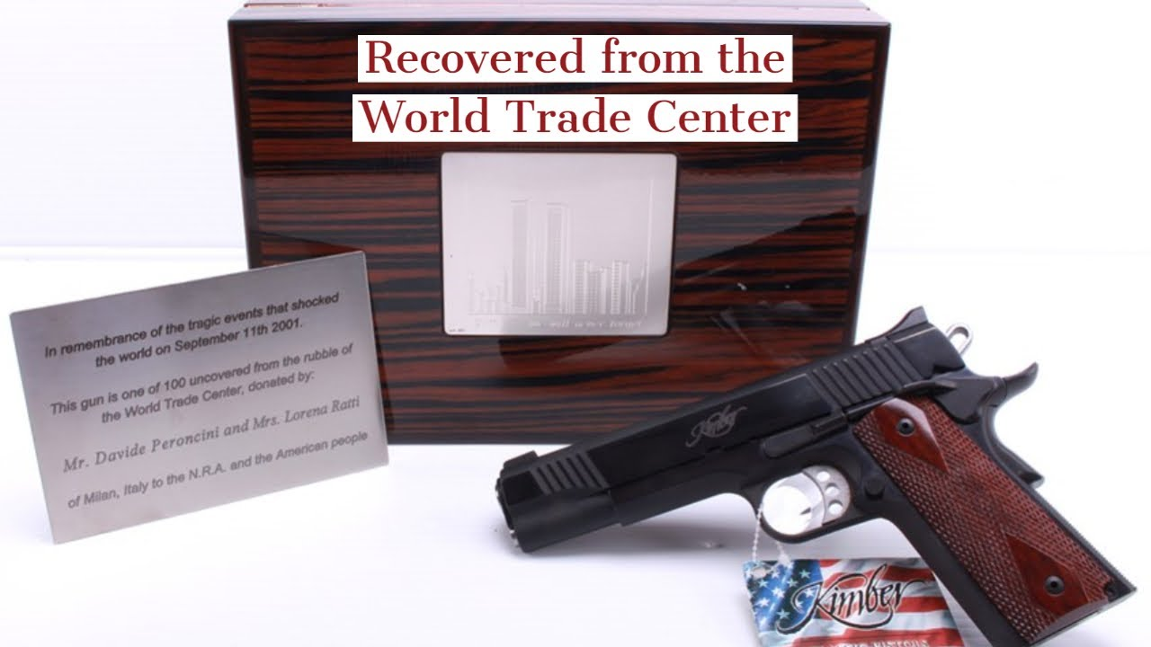 World Trade Center-Recovered Kimber Classic Royal 1911