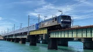 EF210 メトロ18000系甲種輸送 東海道本線新居町〜弁天島