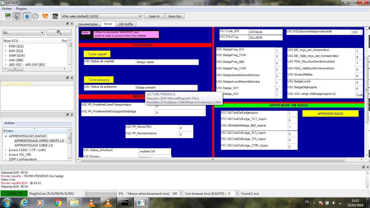 programmation carte megane 2 Logiciel ddt4all et programmation carte Renault Megane 2 & Scenic