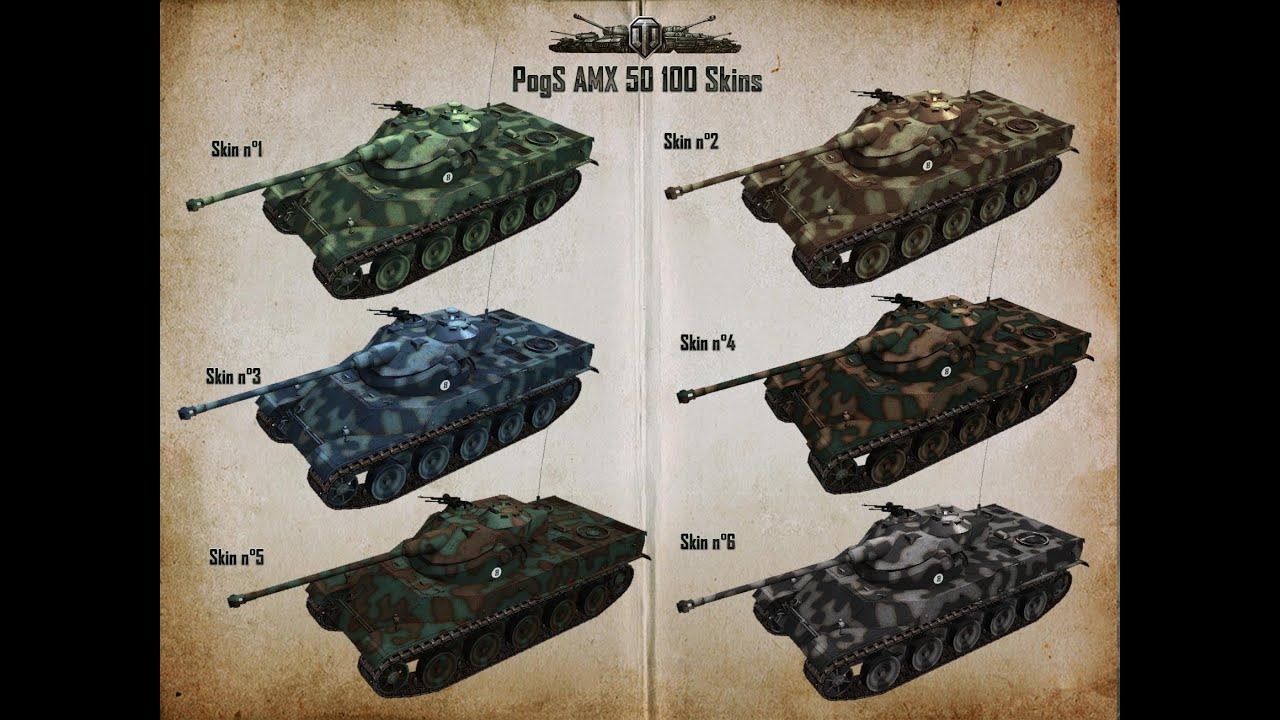 50 100 World Of Tanks Kurs Amx 50 100 1 Linia Zygfryda