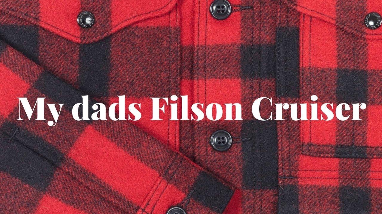 13a52ca5a6a My Dads Filson Mackinaw Cruiser - YouTube