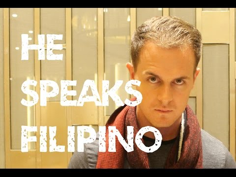 This Foreigner speaks Filipino! Why can