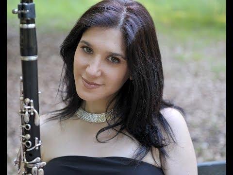 Clarinetistas Para Ouvir: Sharon kam - Weber -  Rondó do Quinteto para Clarinete e cordas