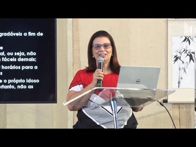 Programa Cristão de Cuidador Familiar - Estimulação Cognitiva - Dra Janine Cassiano