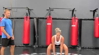 functional fighter 2 med ball vertical throw