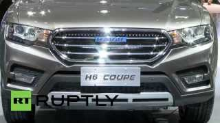 China: Great Wall Motors unveil Haval H6 Coupe SUV based on last year's hit