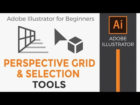 How to Use the Perspective Grid and Perspective Selection Tools in Illustrator CC