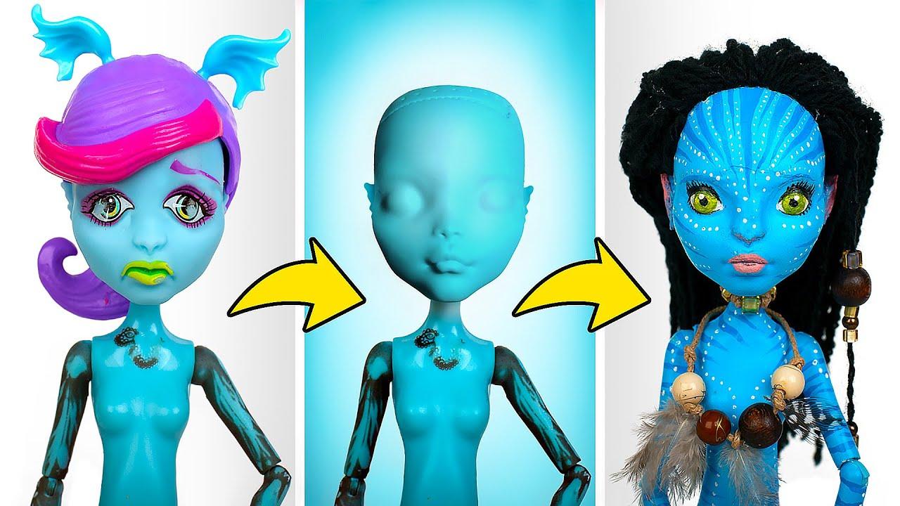 Как Превратить Обычную Куклу в Куклу АВАТАРА