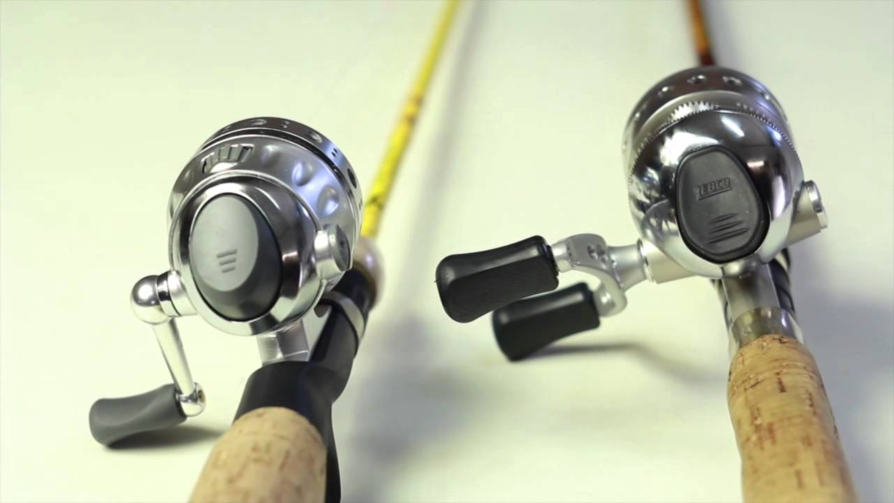 Zebco Omega And Pflueger Cetina Spin Cast Fishing Reel