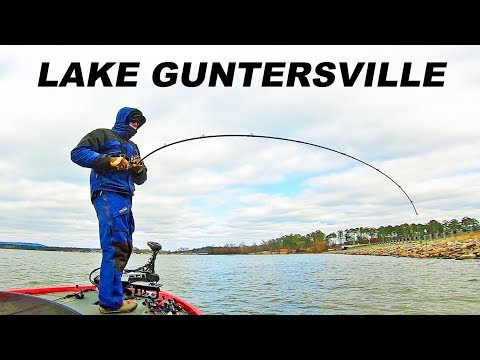 Lake GUNTERSVILLE Winter Tournament! FLW BFL For $5,000