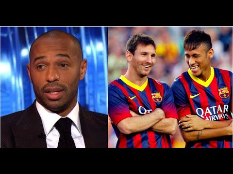 Thierry Henry weighs in Neymar leaving Barcelona to escape Lionel Messi's shadow