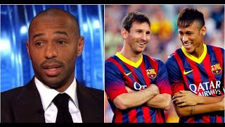 dd916e1ca Thierry Henry weighs in Neymar leaving Barcelona to escape Lionel Messi s  shadow
