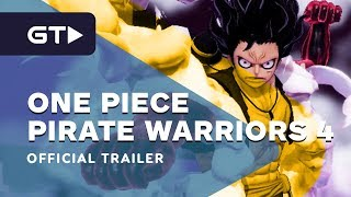 One Piece Pirate Warriors 4 - Official Release Date Trailer