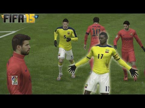 Fifa 15 Ultimate Team - Colombia Vs España - La magia de Jackson Martínez TOTS
