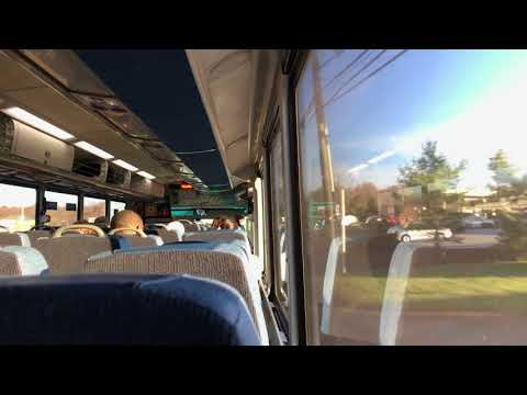 NJ Transit: On Board Ride MCI D4500CT CNG #7268 on the 139