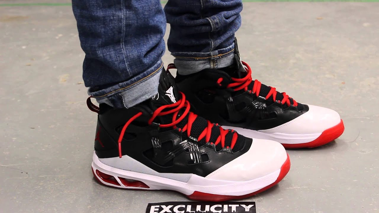 Jordan Melo M9 White - Red On-feet Video at Exclucity - YouTube 27d6b77b2