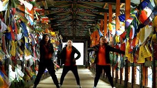 Girls Hip Hop Dance - Bhutan