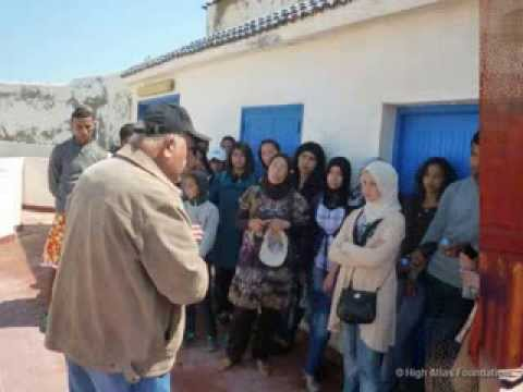 HAF's Cemetery rehabilitation project in Essaouira - radio interview